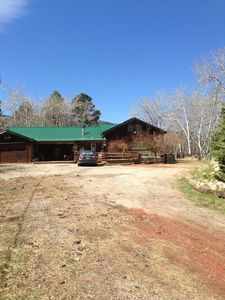 4 Bedroom 2 Bath Mountain Home situated at the foot of the Bighorns.