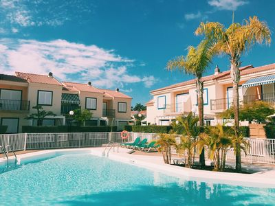 Photo for Ocean view bungalow in Pasito Blanco Marina VV-2018/5694