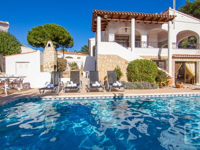 Photo for Saona Villas: Calpe, villa 8 to 9 people, 800 m cove and private pool