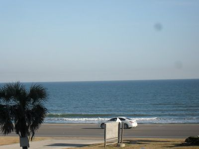 Photo for Amazing Beach Condo M236 On Galveston Seawall with Gulf of Mexico View