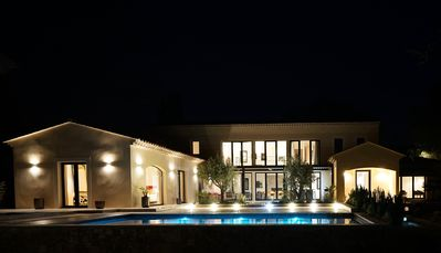 Photo for Very large new design house with pool ideally placed
