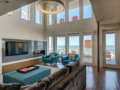 Photo for Modern Oceanfront Home With Elevator