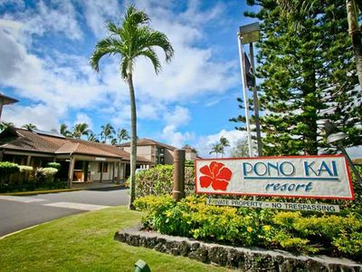 Photo for Christmas Week in Kauai - Beachfront Condo Pono Kai Resort!