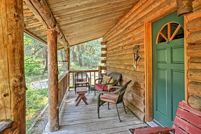 The front porch will quickly become your favorite place to sip your morning coffee.