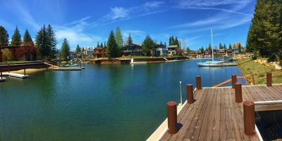 Photo for One Of A Kind Home in the Tahoe Keys with 21' Boat Dock & completely remodeled