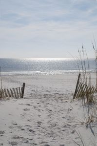 Come leave your footprint on our Beautiful Florida Perdido Key White Sandy Beach