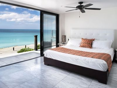 Photo for Beachfront modern townhouse at Ffryes Beach