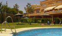 Comfortable, well situated apartment with nice pool and short walk to beach