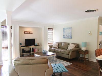 Photo for Wine Down Time A, Stilted Duplex, Monthly Rental, Short Walk to the Beach