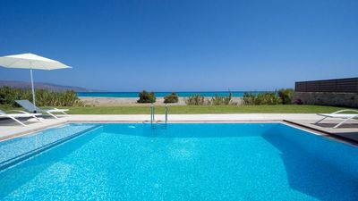 Photo for Two seafront Beach Villas with 4 bedrooms and a private pool each