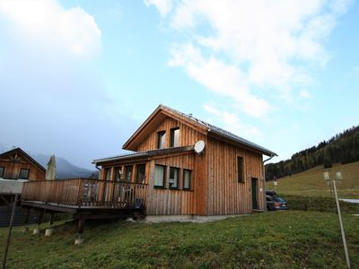 Photo for Luxurious chalet with sauna high in the mountains at 1300m, nearby the slopes