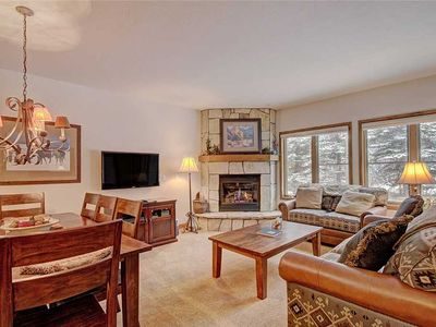 Photo for Great Breckenridge location, Ski-in/ski-out, Hot tubs and sauna, Fireplace, Sleeps 8!