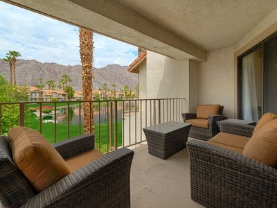 Photo for PGA West Mountain View Condo, Top Floor, Pool and Spa Access