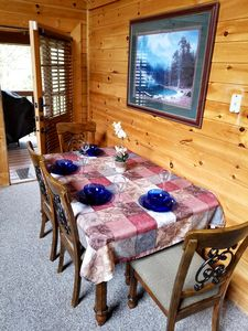 Dining Area. Great place to bring the family!