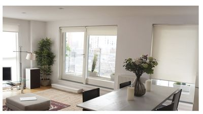 Photo for Canal Views from stunning balcony flat Shoreditch!
