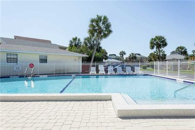 Pool View - Having the pool right outside your door makes getting out there to work on your tan so quick and convenient.