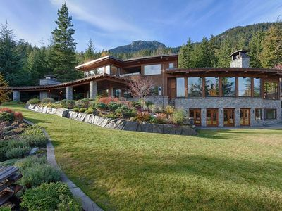 Photo for Super Private Luxury Whistler Retreat Property on Acreage