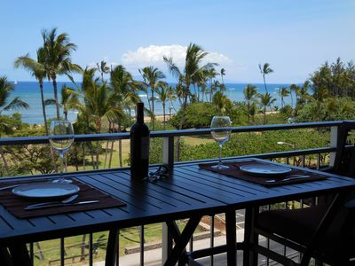 Enjoy meals and your favorite beverage on the Lanai!