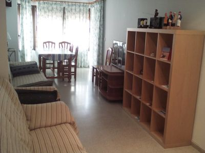 Photo for Sunny and big apartment in the center, services at three minutes walk, sea view