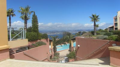 Photo for Superb modern F2 + Park Res between sea and Esterel for rent or sale