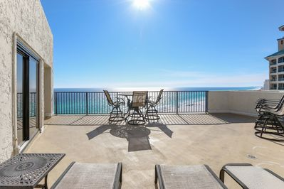Beachside I 4144 - Sun Deck - Enjoy sunning on the deck without all the sand!