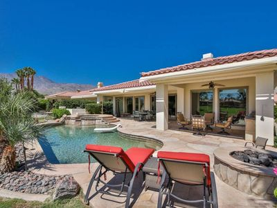 Photo for 80705 Cedar Crest  · 4 Bedroom heated pool and spa, mister, BBQ +++