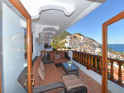 Photo for Luxurious Villa w/ Spectacular Views, Fireplace, Romantic Private Balcony - Hami