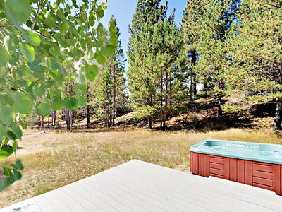Photo for Updated 3BR on Large Wooded Lot w/ Deck & Hot Tub – Near Camp Richardson