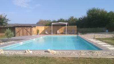 Photo for Character 18C House with 12 x 6m private pool