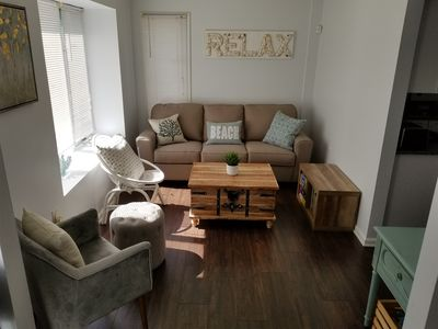 Photo for 3BR 2BA Townhome Half a Block to Seaside Hgts Boardwalk (10% Military Discount)