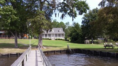 Photo for Lake Marion Lake Front Home With Dock And Sandy Beach