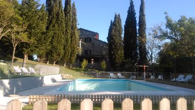 Photo for Exclusive pool park farmhouse - holidays, private parties, large groups