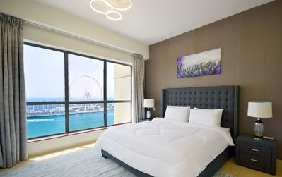 Photo for Amazing 2BR Full Sea View Apartment JBR
