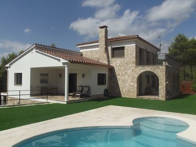 Photo for Sitges hills lovely and spacious family villa!