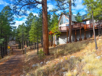 Luxury Retreat w/ Forest Views & Hot Tub! Newly renovated with high-end finishes