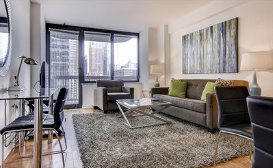 Photo for Cozy 1BR | Perfect for Travel Nurses | Midtown Manhattan