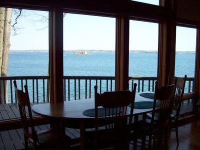 Photo for Home on semi-private island in St Lawrence River's 1000 Islands region