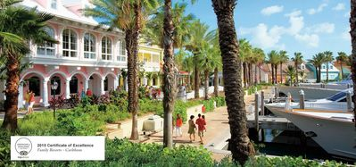 Photo for 2 Bedroom lock off at the Harbourside resort Atlantis