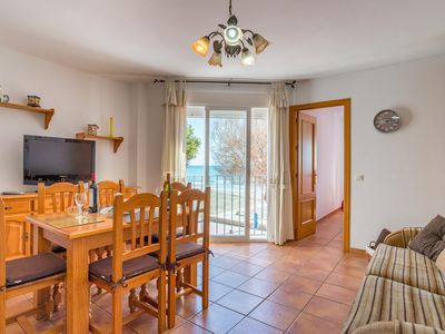 Photo for APRT FIRST LINE OF SEA, 6 METERS FROM THE BEACH, 2 WINDOWS WITH VIEWS TO THE MA