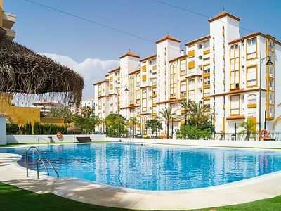 Photo for 3 bedroom Apartment, sleeps 6 in Estepona with Pool and Air Con