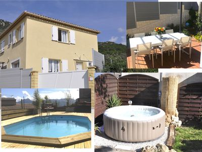 Photo for Rear Country Nice: Villa 4/6 pers. with Jacuzzi