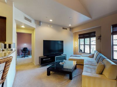 Photo for NEW LISTING! Charming condo w/2 shared pools, hot tub, game room, fitness center