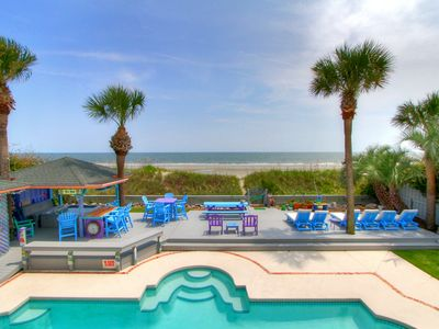 Photo for 89 Dune Lane-OCEANFRONT, Private Pool & Hot Tub- FREE POOL HEAT for April