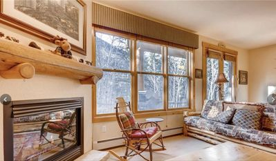 Photo for Cozy 1BR, 1BA, In the Woods, On Resort Shuttle Route, close to River Run!
