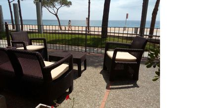 Photo for MEDITERRANEAN HOUSE SITUATED FRONT OF THE SEA