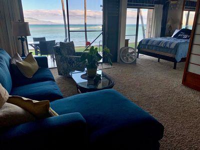 Photo for Wow! Beautiful Oceanfront Condo on the Waters Edge! King bed, Free WiFi