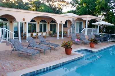 Outdoor Living on the new Pool Deck and Covered Porches.