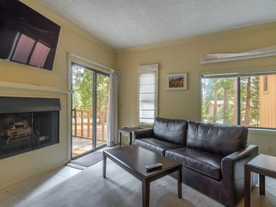 Photo for New Listing! Cute studio condo with HOT TUB and SAUNA