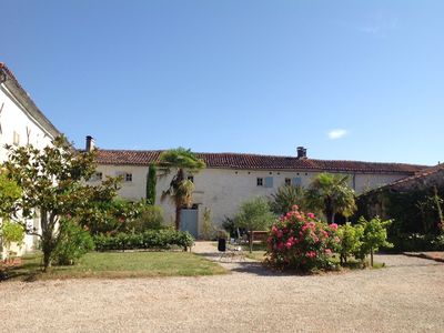 Photo for GiteRetreats : Private French Farmhouse in Bordeaux and Cognac Country