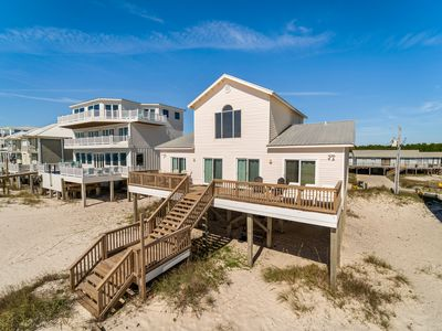 Photo for Tamaron - 3 Bedroom Plus Loft Private Gulf Front Home, Sleeps 10